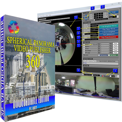 Spherical Panorama 360 Video Publisher