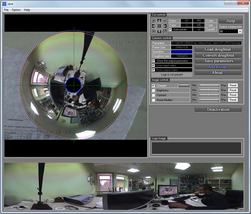 Click to view Spherical Panorama 360 Still Photo Publisher 2.01 screenshot